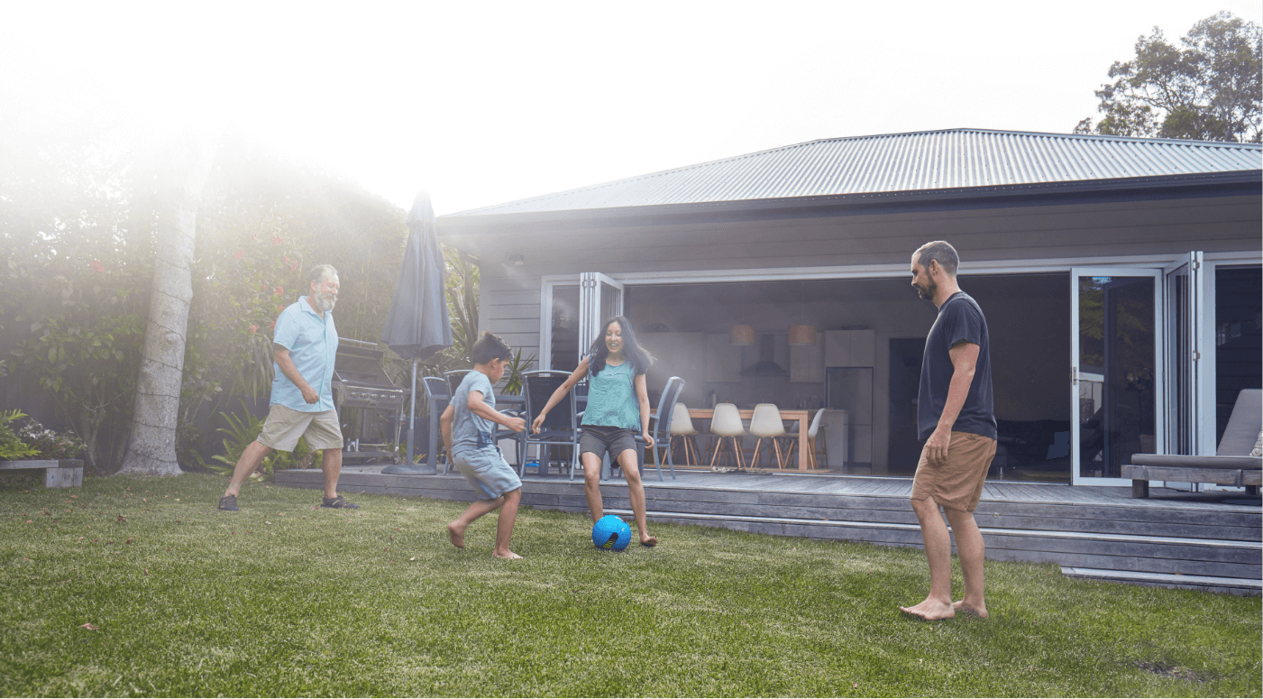 image of family-in-backyard