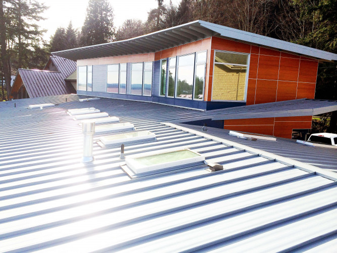 Metal Roofing Installation image